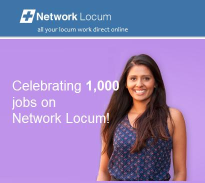 Network Locum (now Lantum) has had 1,000 jobs posted!
