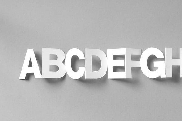 alphabet chain