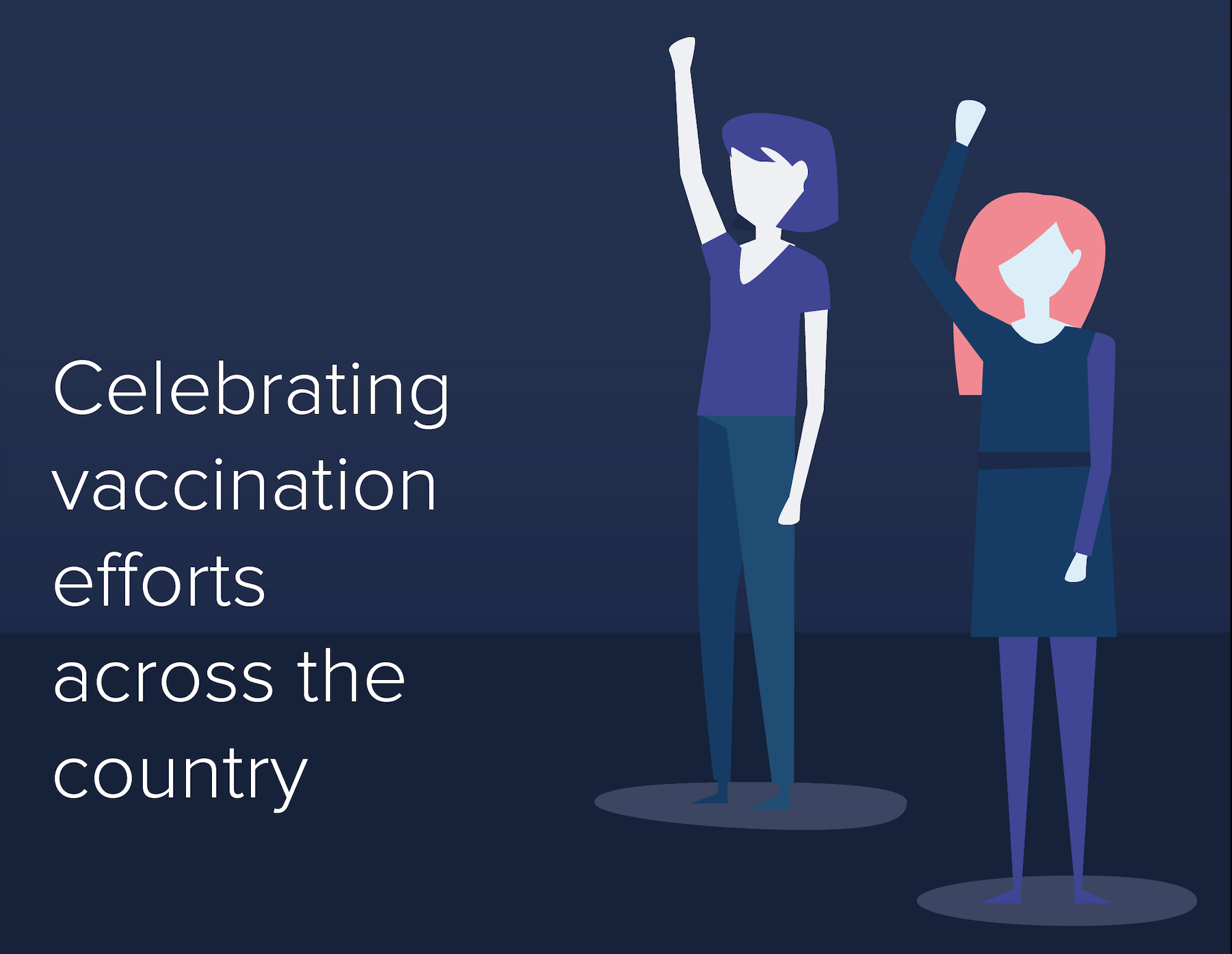 Celebrating vaccination efforts across the country