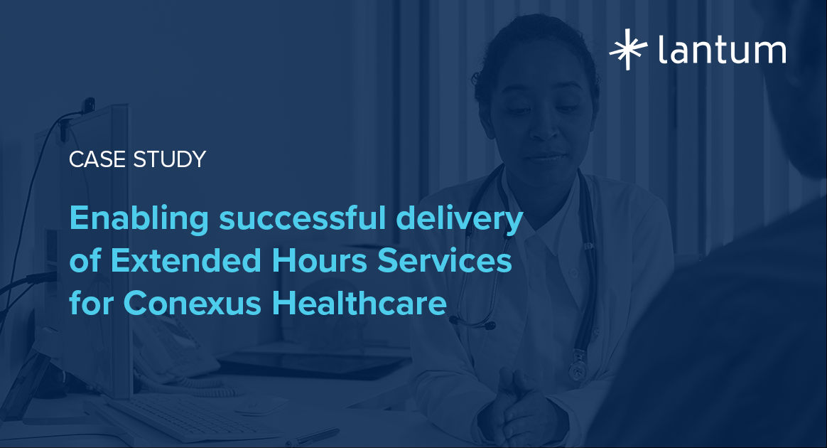 Enabling successful delivery of Extended Hours Services for Conexus Healthcare