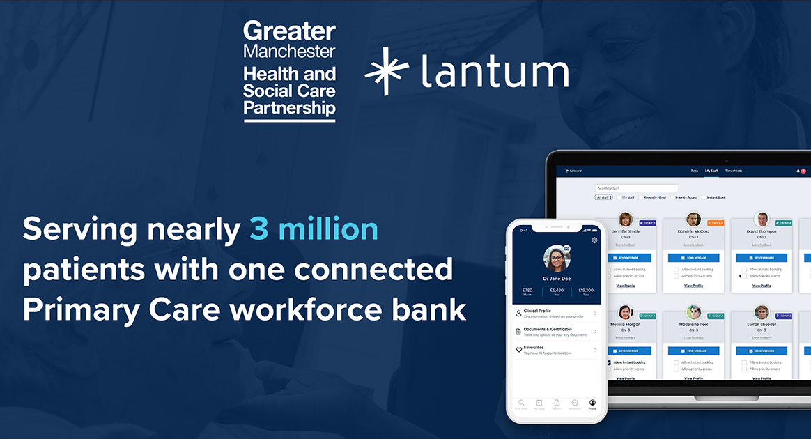 Serving nearly 3 million patients with one connected Primary Care workforce bank